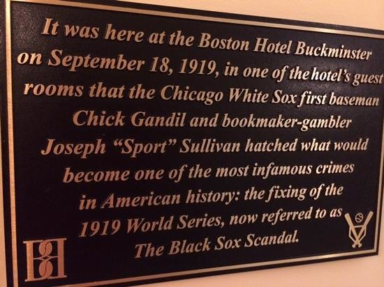 Boston Hotel Buckminster: histroy happened here