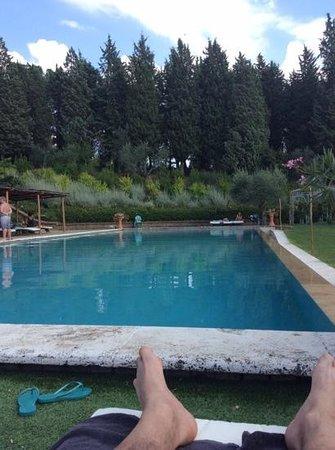 Il Patriarca: la piscina