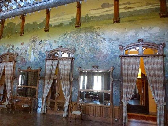 Grand Hotel Villa Igiea - MGallery by Sofitel : La salle décorée Art nouveau