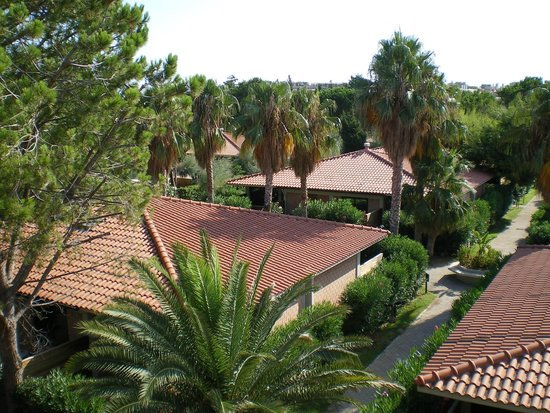 Fiesta Hotel Garden Beach : Вид с балкона