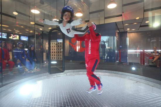 iFLY Austin Indoor Skydiving: My super girl!