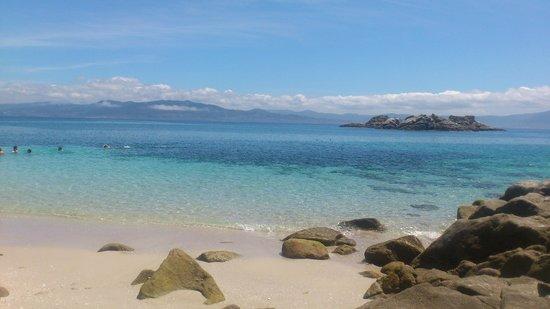 Camping Islas Cies: Limpia, cristalina y llena de vida.
