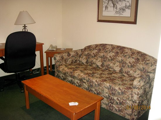 Lakeview Inns & Suites - Okotoks: Living Room