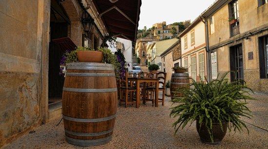La Fragua: Vor dem Restaurant