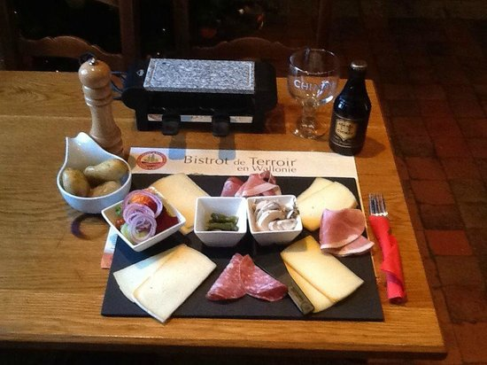 Brasserie St-Georges : fromages