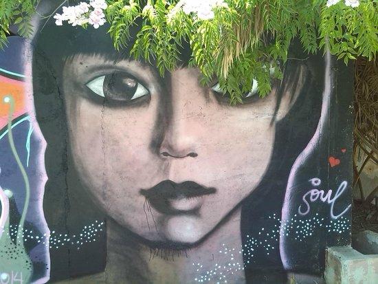 Hotel Club Cala Tarida: murales