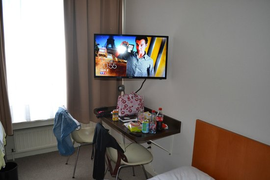 Hotel Melinda : coin télé