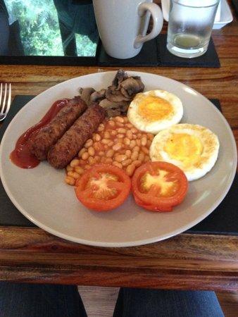 Craik Na Dav B & B: Full Vegetarian Breakfast