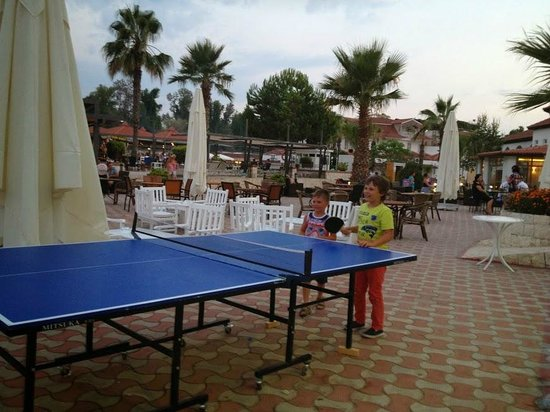 Lykia Botanika Beach & Fun Club: Настольный теннис