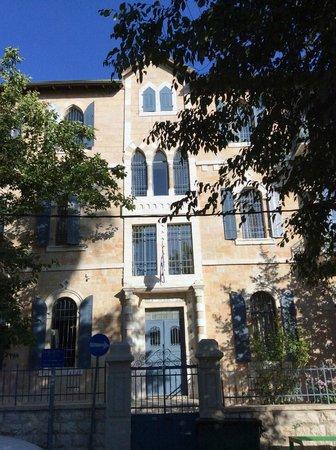 Arcadia Ba'Moshava Jerusalem: Fachada del hotel