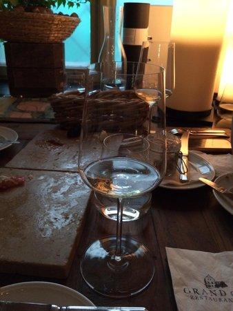 Grand Cru Restaurant and Bar: Vynikající Ryzlink od Pichlera