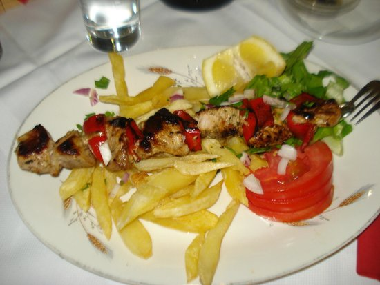 Tavern Strata: Souvlaki di pollo, ottimo!!