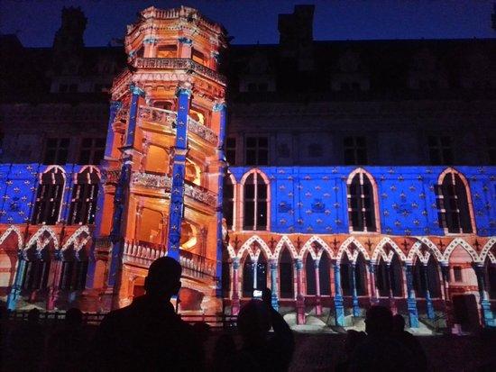 Chateau Royal de Blois : Son et lumière