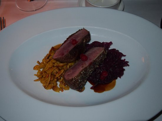 The River Cafe: Duck Breast, entree