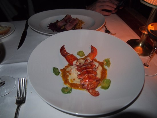 The River Cafe: Lobster, entree