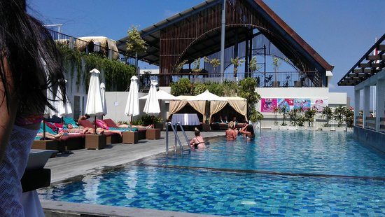 Pool Area Picture Of The One Legian Legian Tripadvisor
