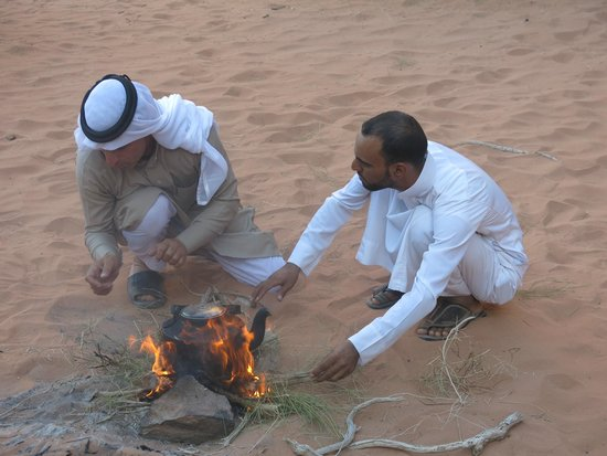Wadi Rum: Tea in the desert