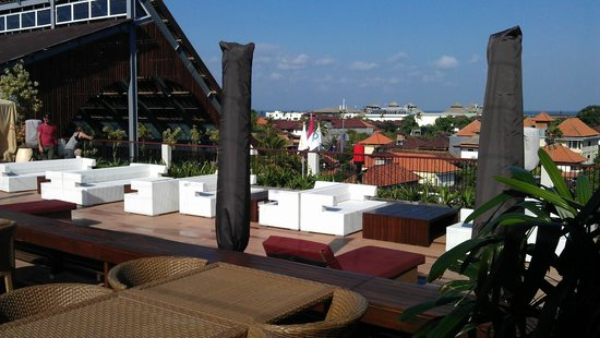 The ONE Legian: view from upstairs