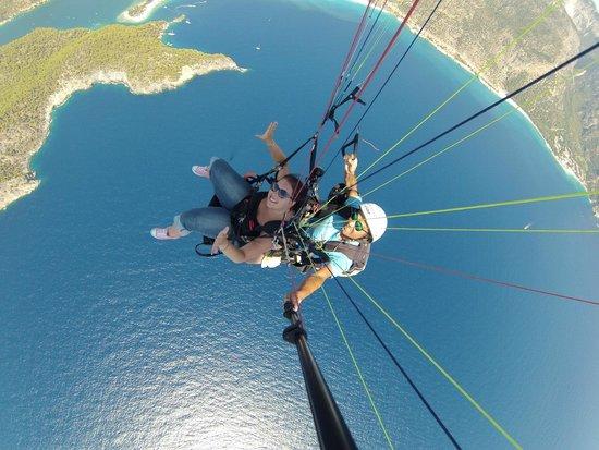 Sky Sports Paragliding: Me n Murat