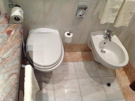 Boscolo Exedra Roma, Autograph Collection: 洗面台に近すぎる便器