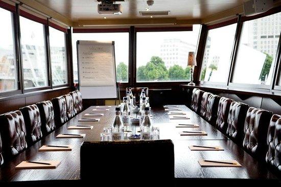 Tattershall Castle Bar & Club : Bridge room - Meeting set up