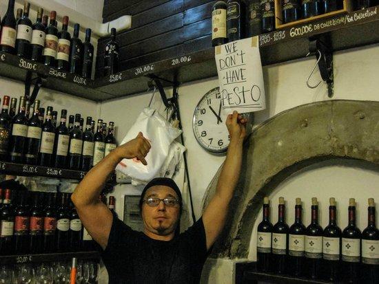 All' Antico Vinaio : Alles ausser PESTO