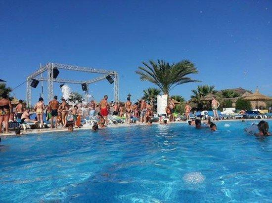 Fiesta Beach Club Djerba : Mousse Partie au Fiesta Beach