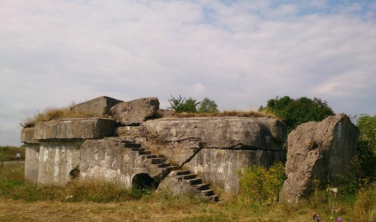 Województwo podlaskie, Polska: руины заречного форта