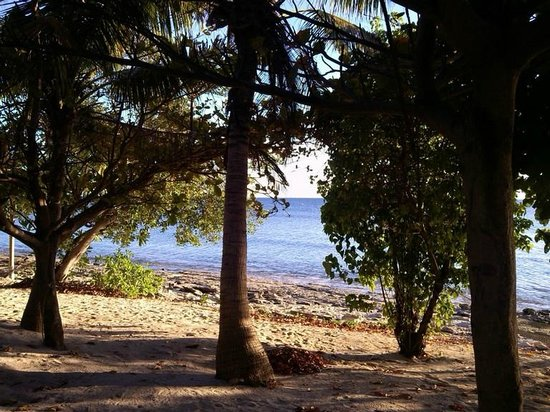 Bounty Island Resort: Sit out front of the beachfront bure and chill out with this scene