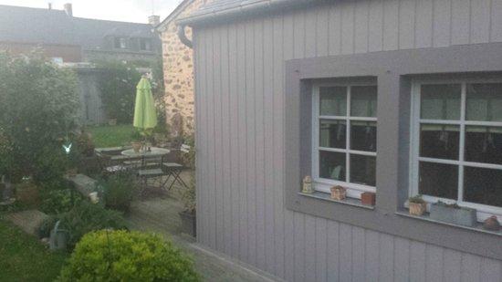Au Gré du Vent : Detalle exterior cocina