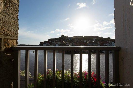 The Marine Hotel: View from balcony room 2