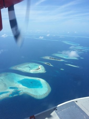 Cinnamon Hakuraa Huraa Maldives: Sea Plane Ride to the Hotel