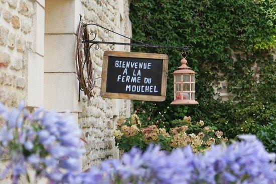 Ferme du Mouchel : de vriendelijke ingang