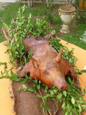 Le Zagare: Il maialino
