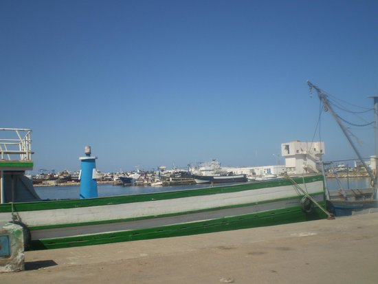 Topkapi Beach Mahdia: Mahdia-přístav