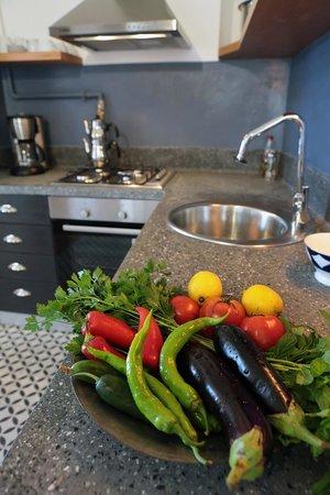 Manzara Istanbul: Küche in der Wohnung Pierre Lotti