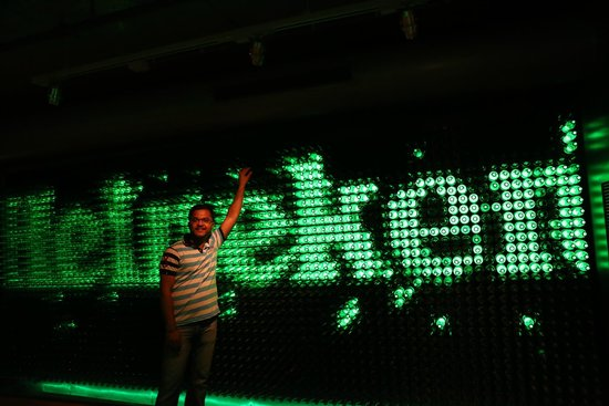 Heineken Experience : at the exit