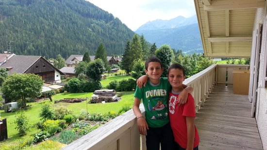 Hotel Chalet Olympia: La veduta