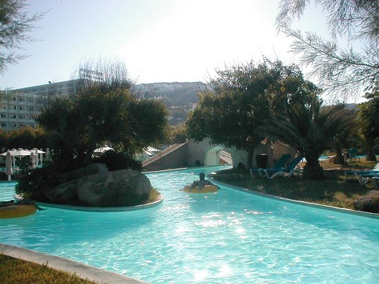 Esperides Beach Family Resort : Esperides fiume lento