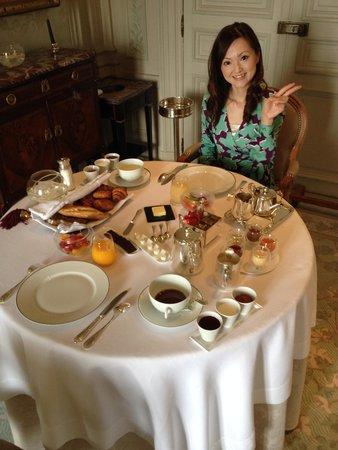 Château Les Crayeres : Nice Breakfast