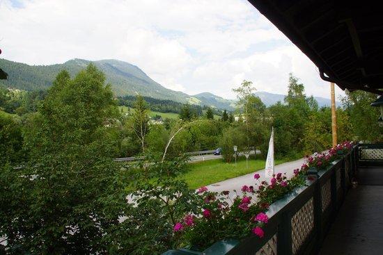 Voglauerhof: Blick vom Balkon