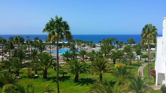 ClubHotel Riu Gran Canaria: Vue du balcon de ma chambre 3102. 3ieme étage