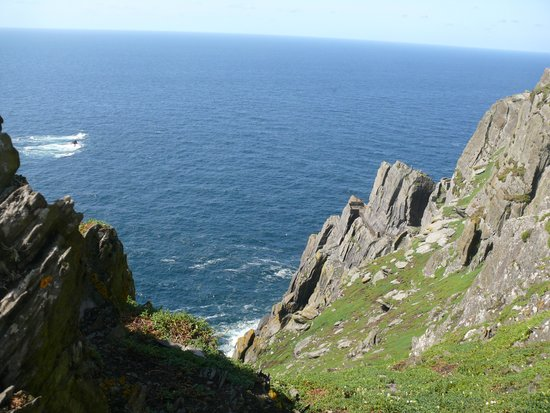 Casey's Skellig Islands Tours: Aussicht vor dem Abstieg