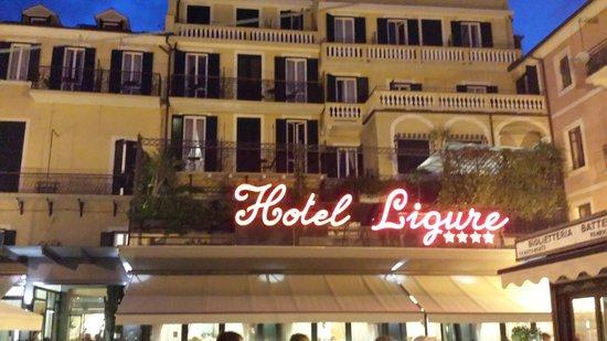 Hotel Ligure: La facciata