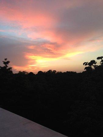 Luxury Bahia Principe Sian Ka'an Don Pablo Collection: sunset from my room