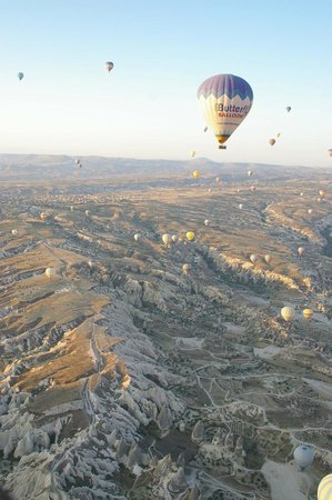 Royal Balloon - Cappadocia: ぐんぐん上昇