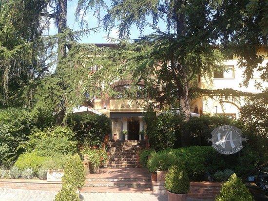 Hotel Villa Ambrosina: Ingresso hotel