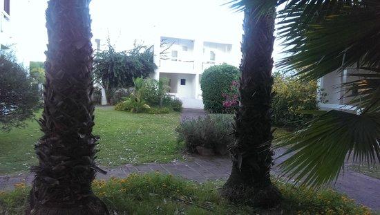 Hotel Flamingo: Vista degli appartamenti in villa