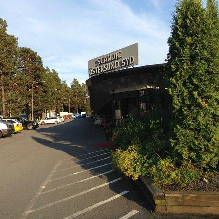 Scandic Ostersund Syd: Hotellinngangen