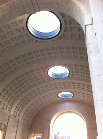 Menin Gate Memorial: Last Post Ceremony. Beautiful architecture, I felt like God was shining His light on all those w
